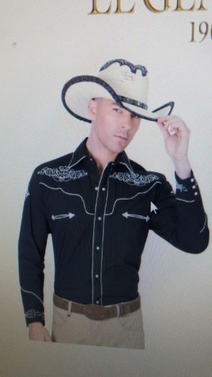 Camisa vaquera for Sale in Cypress, TX