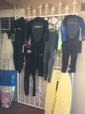 Best kids wetsuits and 🏄♀️ surfing equipment all sizes for Sale in Midway City, CA
