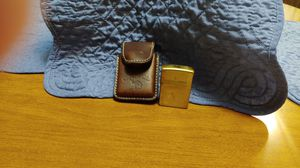 Photo Camel Zippo lighter,with leather case