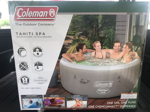 Coleman Tahiti Spa For Sale In Mcallen Tx Offerup