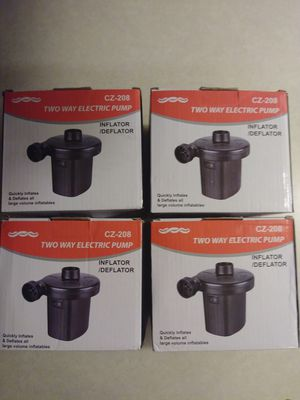 CZ-208 Two-Way Electric Air Pumps for Sale in Las Vegas, NV