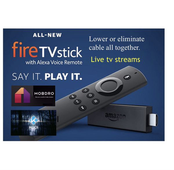 Amazon fire stick with international channels for Sale in Plainfield, IL -  OfferUp