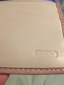 Coach Pink Envelope Wallet Thumbnail