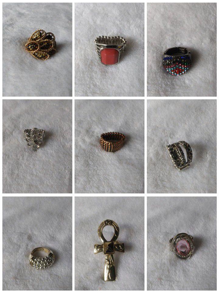 Eleven Fashion Stretch Rings