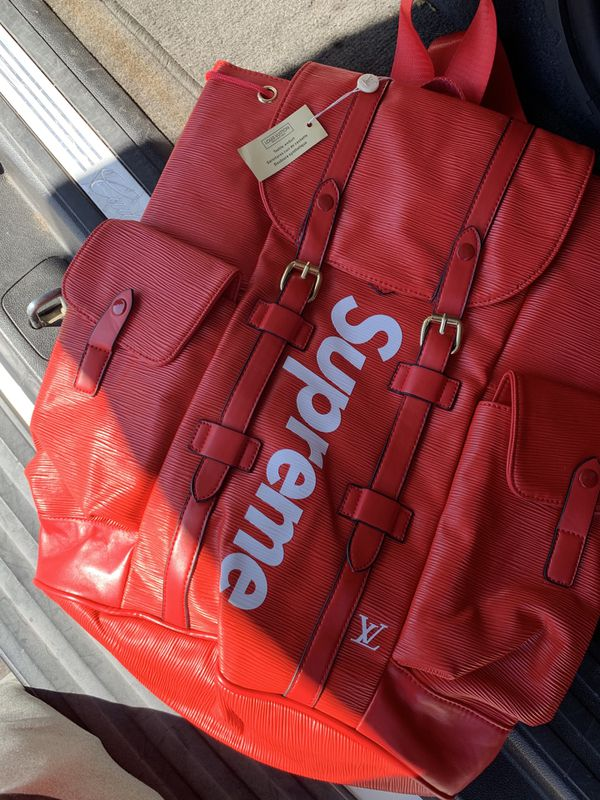 087f338e19d Louis Vuitton X Supreme EPI Backpack for Sale in Henderson, NV - OfferUp