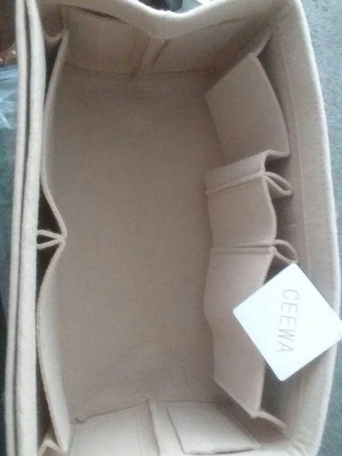 f70d9efe23bd Ceewa Felt Purse Organizer –Multi Pocket Bag in Bag Organizer Fit Tote    Handbag Shaper Fits Speedy 30 and Speedy 40 (Large