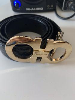 Men's feragamo belt size 36 Thumbnail