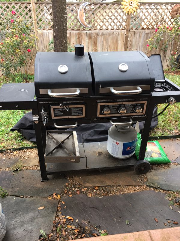 Dual Fuel Bbq Grille