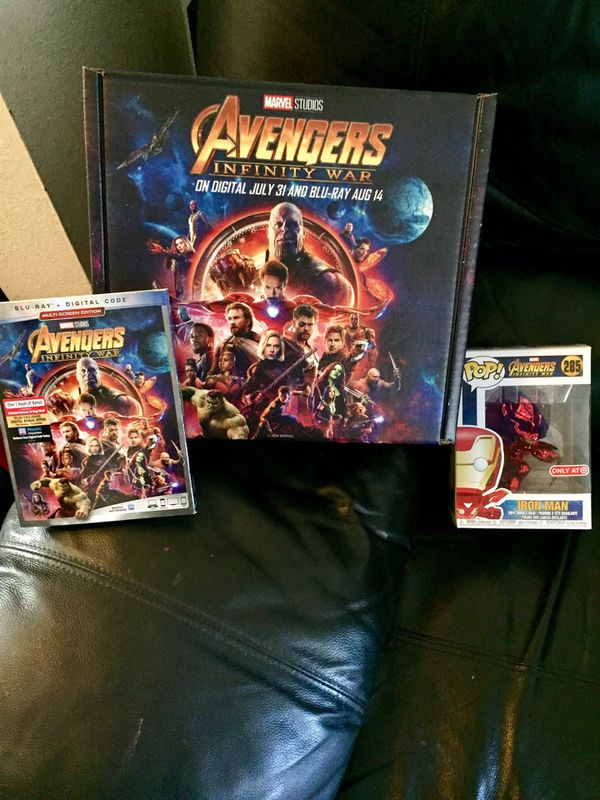 FUNKO INFINITY WAR BLU RAY SET  for Sale in Imperial Beach, CA - OfferUp