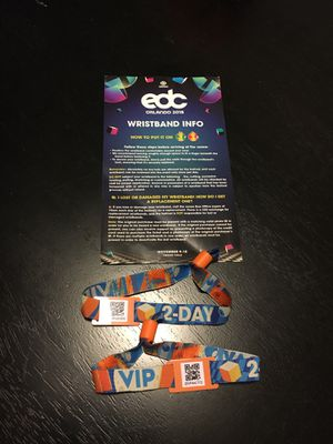 2 Day EDC VIP Tickets for Sale in Kissimmee, FL