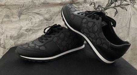 Coach Signature Jogger- Size 9, Smoke/Black Thumbnail