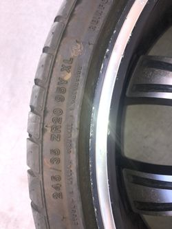 """20"""" Wheel With Rim ( ONLY 1 ) Thumbnail"""