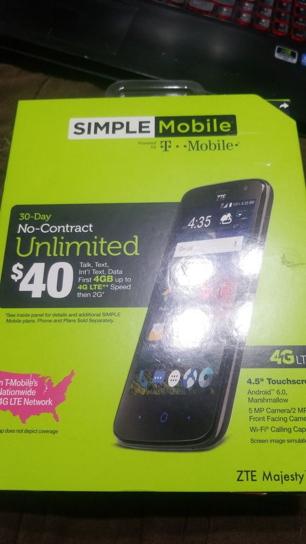 Simple mobile prepaid phone for Sale in Corinth, TX - OfferUp