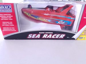Photo Vintage Nikko Sea Racer Remote Controlled Boat