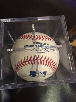 Boston Red Sox 2004 World Series Closer Keith Foulke autographed baseball Thumbnail
