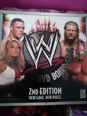 Wwe dvd board games 1 st and 2nd edition | cds & dvds | gumtree.
