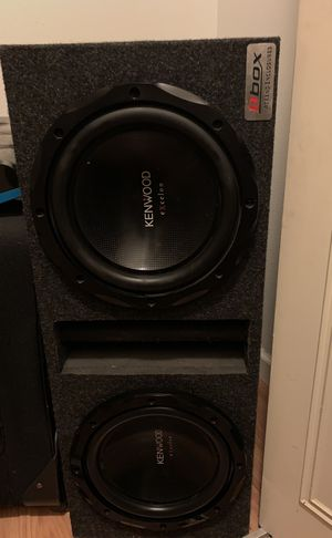 Kenwood sub woofers with box for Sale in Scottsdale, AZ