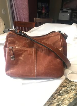 Photo Giani Bernini - Brown Leather Hand Bag
