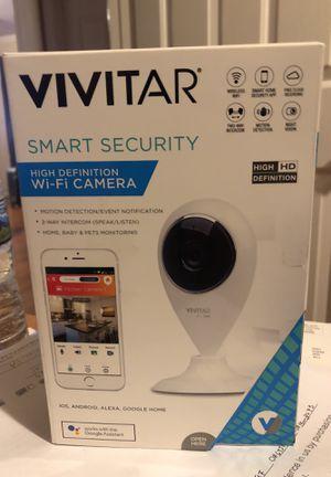 Vivitar smart security camera in the box never open for Sale in Manassas, VA