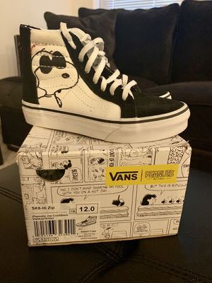 Kid's Vans Peanuts *Limited Edition* size 12 for Sale in Gaithersburg, MD