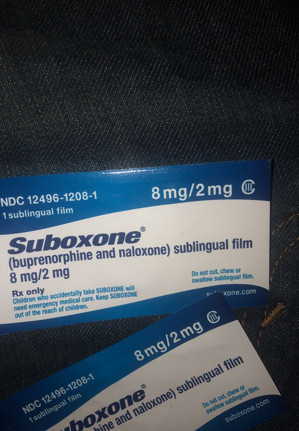 Suboxone strips 8mg for Sale in Antioch, CA - OfferUp
