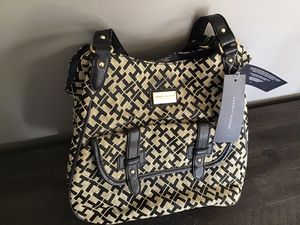 Photo Brand New Tommy Hilfiger Black and Tan Purse