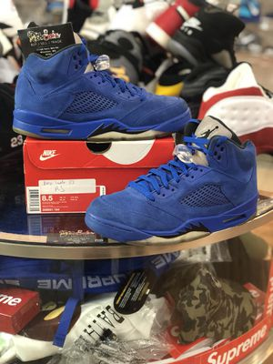 Blue Suede 5's size 8.5 for Sale in Silver Spring, MD