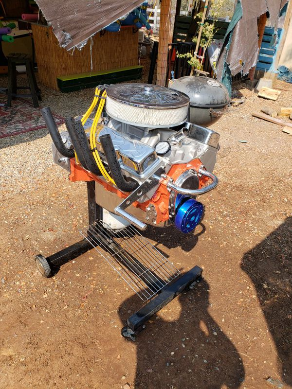 350 Engine Block Bbq Grill For Sale In Big Oak Valley Ca