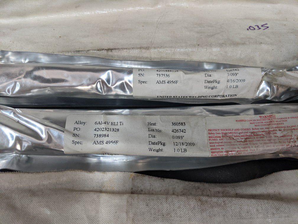 Titanium Tig Welding Rod