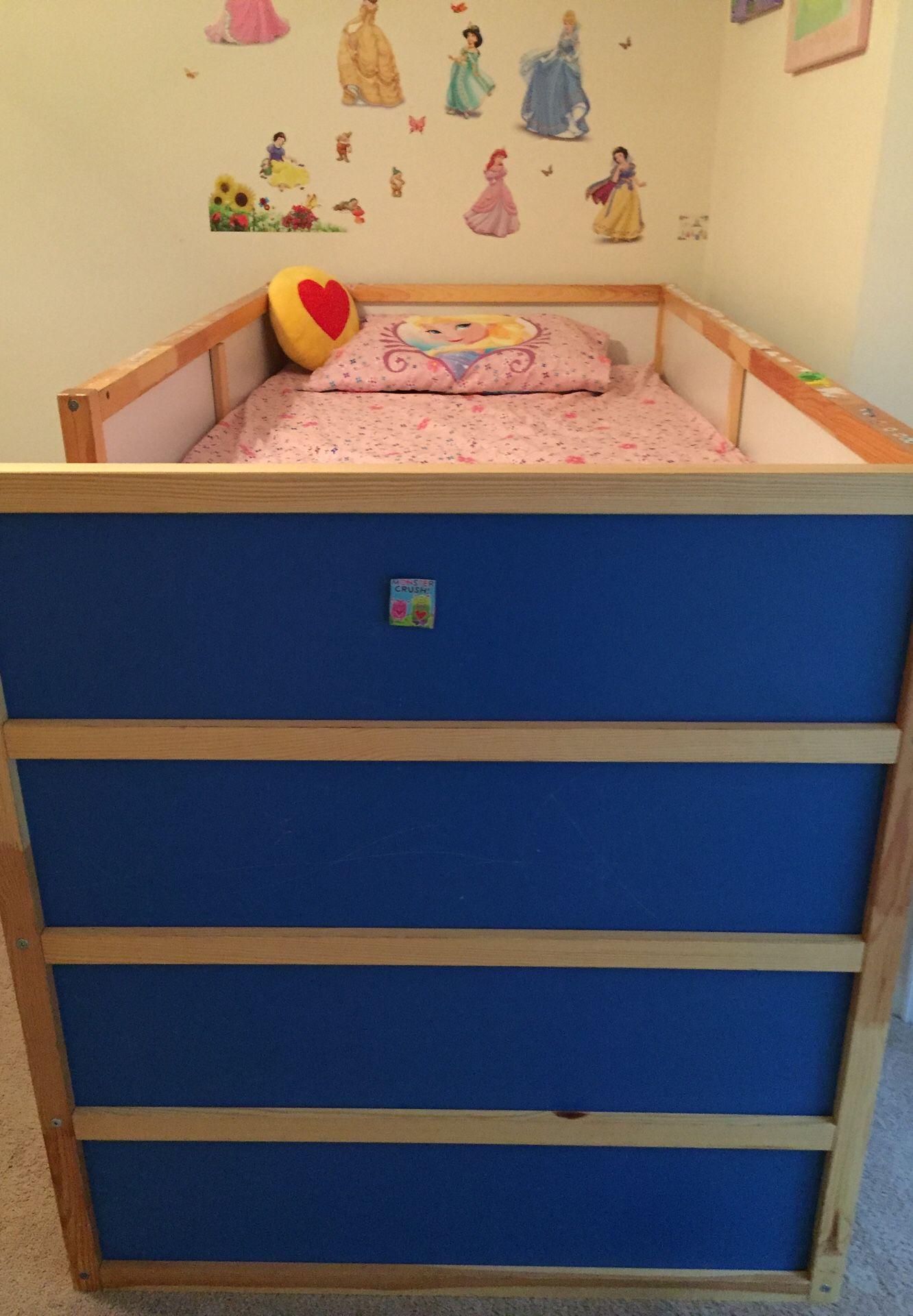 Ikea Kura Reversible Bed 60 Mattress 30 For Sale In Roswell Ga Offerup