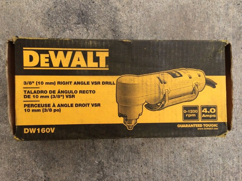 Dewalt 3/8 angle drill