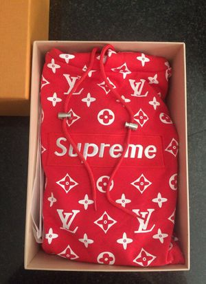 Louis Vuitton x Supreme Mono Hoodie (message for details) for Sale in Herndon, VA
