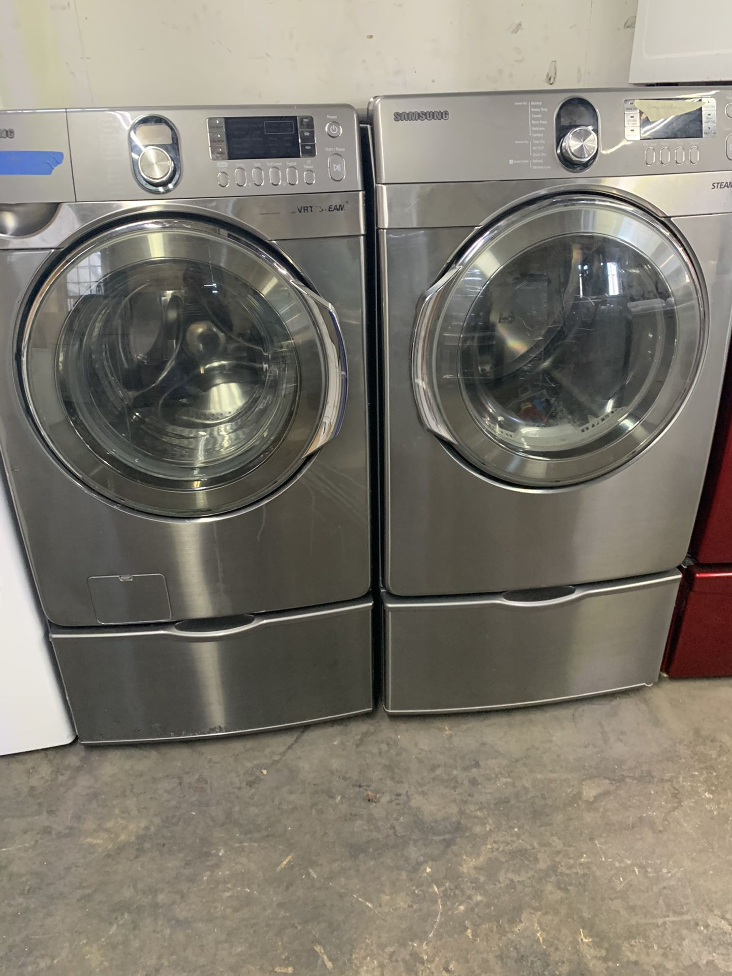 Washer and dyer gas Samsung