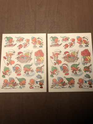 1982 Hallmark Christmas Stickers for Sale in Chantilly, VA