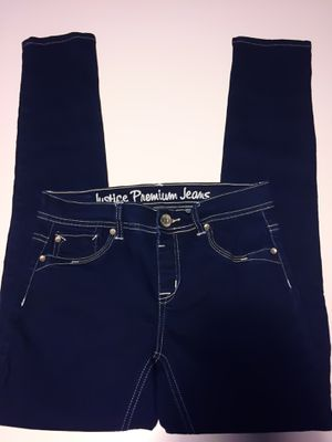 New! Girl's JUSTICE Skinny Jeans, Size 14R for Sale in Las Vegas, NV