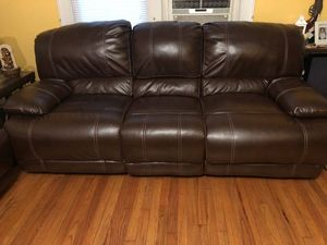 New and Used Leather sofas for Sale in Lawrence Township, NJ - OfferUp