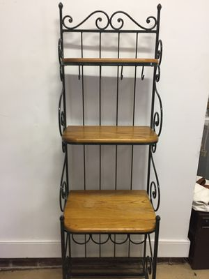 Bakers rack for Sale in Cary, NC