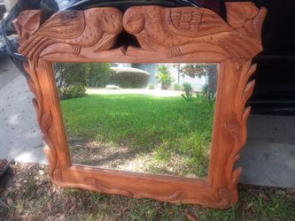 Console table with mirror Thumbnail