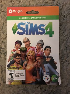 SIMS4 PC/MAC Full Game Download for Sale in Pittsburgh, PA