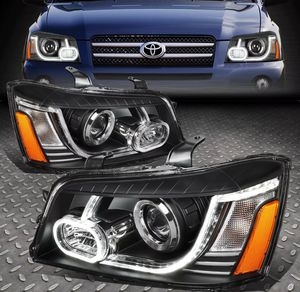 2001~07 Toyota Highlander 3D LED DRL Projector headlights 🚚🚚 for Sale in Montebello, CA