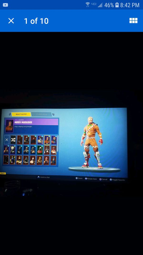 Rare fortnite account ps4 account and email included for ...