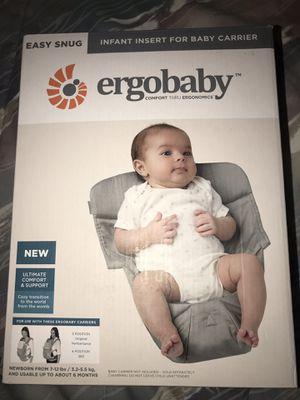 Insert for ergo baby carriers for Sale in Manassas, VA