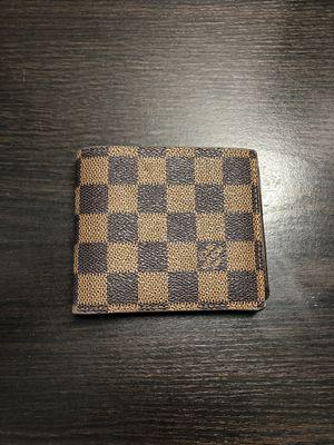 144c9001e6c6 Louis Vuitton tri-fold monogram checkered logo wallet for Sale in Mukilteo,  WA