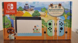 Photo Nintendo Switch Animal Crossing: New Horizon Special Edition
