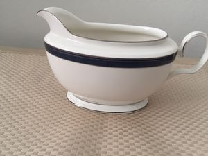 Noritake gravy boat 7997 platinum rim for Sale in Falls Church, VA