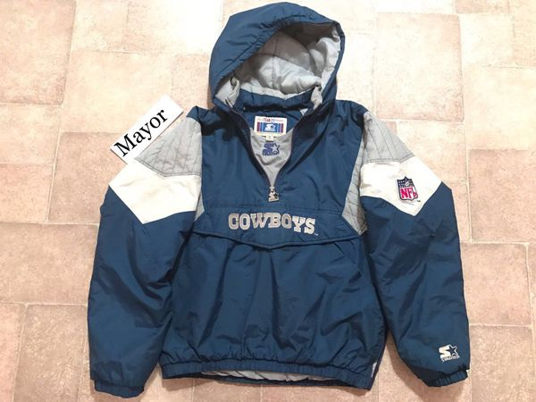 save off 0e728 65895 Dallas Cowboys Hooded Starter Jacket for Sale in MD, US - OfferUp