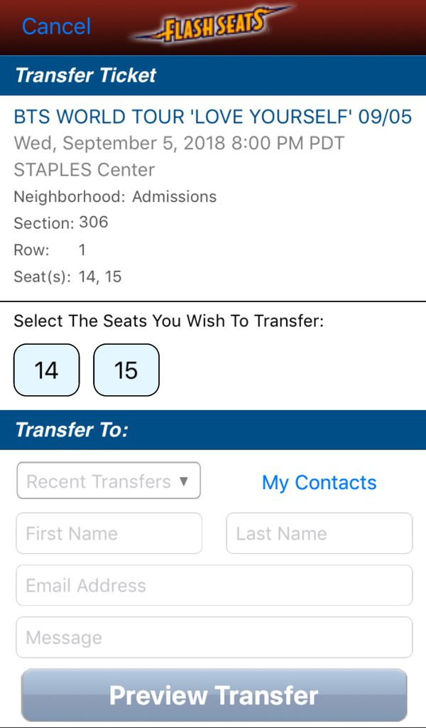 BTS World Tour Love Yourself Tickets 9/5 for Sale in Los Angeles, CA -  OfferUp