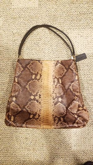 434af85d1926 Coach leather snake skin for Sale in Methuen
