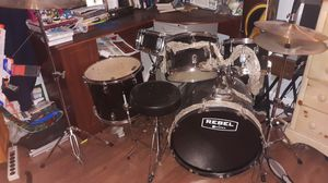 Practically New Full Drum Set for Sale in Sacramento, CA