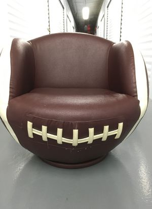 Football Swivel Chair Children's Brown Leather style for Sale in Brooklyn, NY